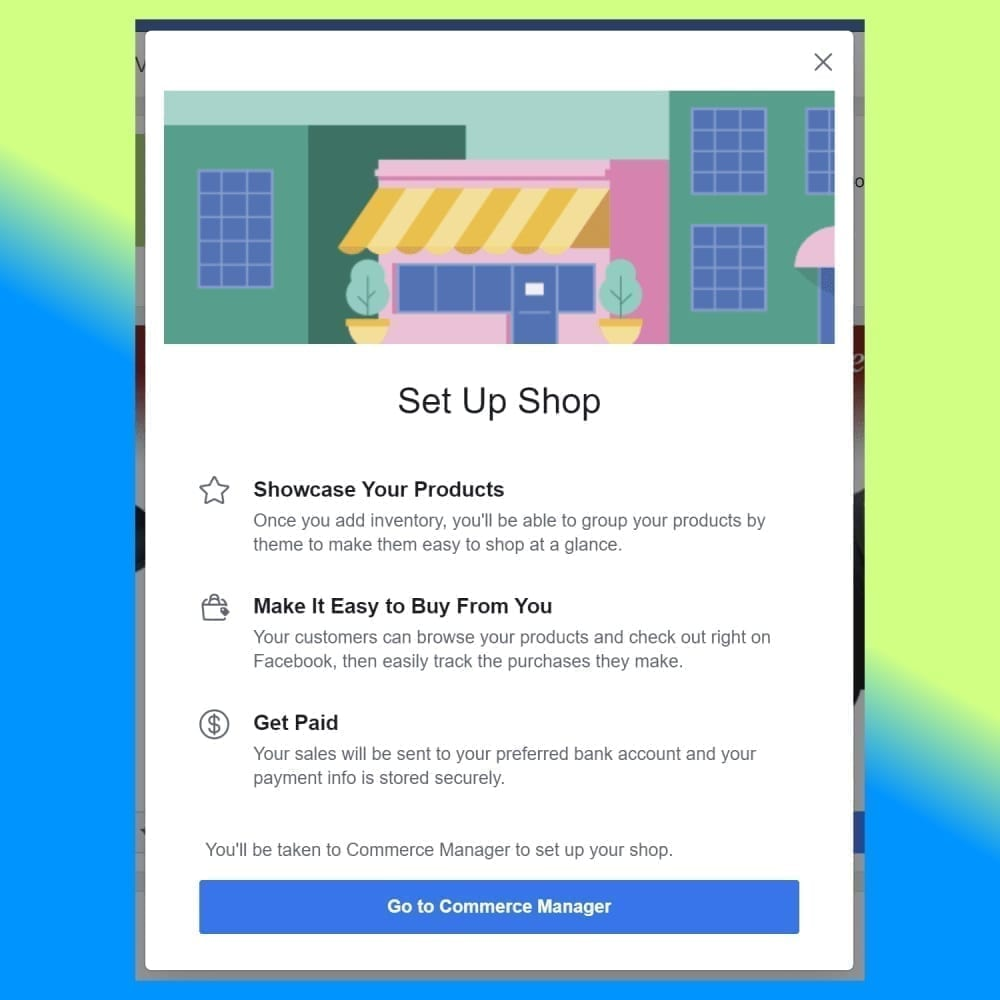 Setting Up Facebook Shop Using a Shopify Connection