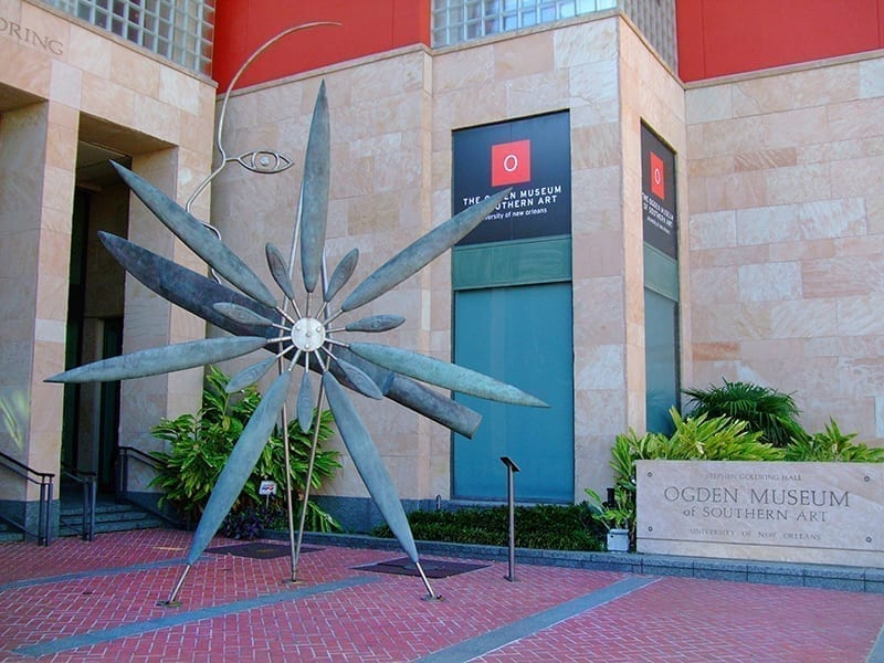 The front of the Ogden Museum of Southern Art